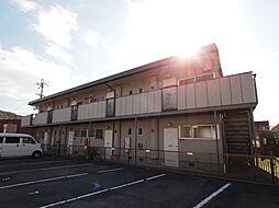 奈良県生駒郡平群町西宮2丁目の賃貸アパートの外観