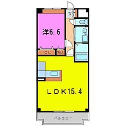 スマイルK・II[2階]の間取り