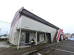 JR成田線 成田空港駅 バス14分 三里塚下車 徒歩15分の賃貸アパート