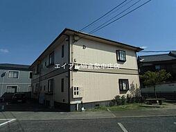 岡山県倉敷市中島丁目なしの賃貸アパートの外観