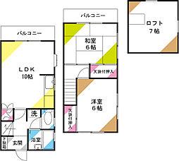 [テラスハウス] 埼玉県さいたま市北区奈良町 の賃貸【/】の外観