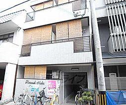 京都府京都市上京区智恵光院通寺之内上る西千本町の賃貸マンションの外観