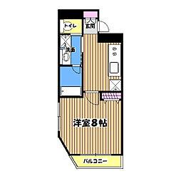 レジス立川高松町[8階]の間取り