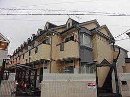 埼玉県草加市弁天2丁目の賃貸アパートの外観