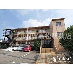 香川県高松市亀田町の賃貸マンションの外観