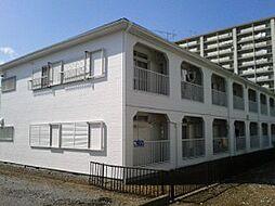 千葉県松戸市新松戸南の賃貸アパートの外観