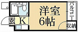 ハイツ高畠[3階]の間取り