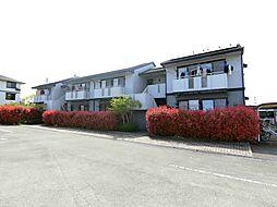 福岡県久留米市津福本町の賃貸アパートの外観