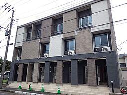 千葉県富津市大堀3丁目の賃貸アパートの外観