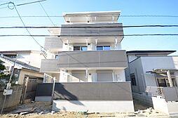大阪府吹田市南正雀1丁目の賃貸アパートの外観