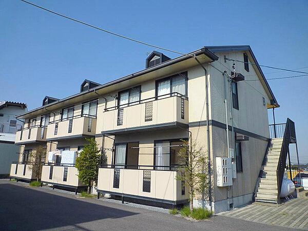長野県佐久市跡部の賃貸アパートの外観