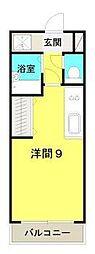 パブリックハイム2号館[5階]の間取り