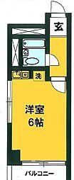 ライオンズマンション千葉県庁前第2[3階]の間取り