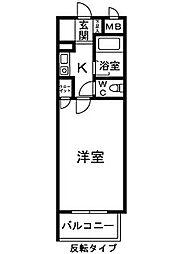 シャルマンフジ中之島壱番館(ロフト)[305号室]の間取り