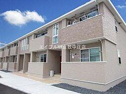 岡山県倉敷市玉島黒崎新町の賃貸アパートの外観