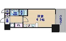 プライムアーバン安堂寺[11階]の間取り