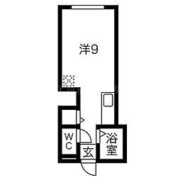 WING32[2階]の間取り