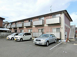 滋賀県湖南市石部中央3丁目の賃貸アパートの外観