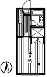 コスモスハイツ東葛西[3階]の間取り
