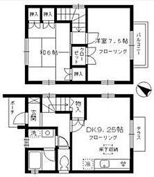 [一戸建] 東京都練馬区早宮3丁目 の賃貸【/】の間取り