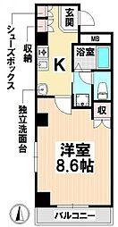 愛知県名古屋市南区鶴里町3丁目の賃貸マンションの間取り