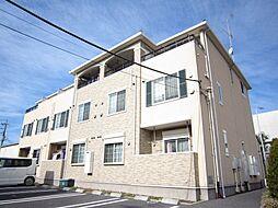 埼玉県三郷市天神1丁目の賃貸アパートの外観