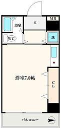 ODESSA南船場[7階]の間取り