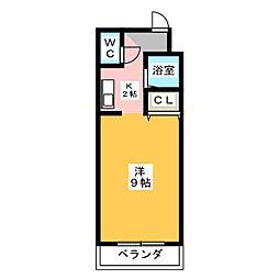 トップパレス[3階]の間取り
