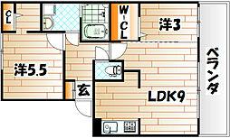 FK-ROCK[2階]の間取り