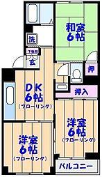 メゾン吉岡[304号室]の間取り