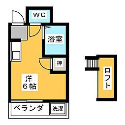 リバティ井ヶ谷[1階]の間取り