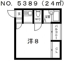 エス・コート[2階]の間取り