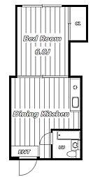 エアリーハイツII[2階]の間取り