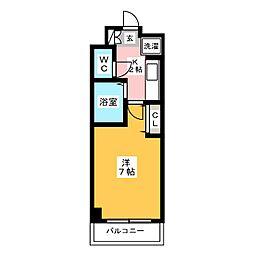 ルミナス博多[2階]の間取り