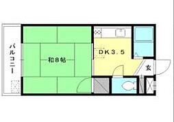 サンライズAKASAKA[103 号室号室]の間取り
