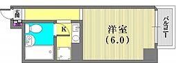 ライオンズマンション神戸西元町第2[203号室]の間取り
