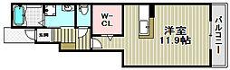 クレメント水池[1階]の間取り