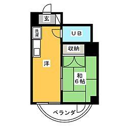 メゾン覚王山[3階]の間取り