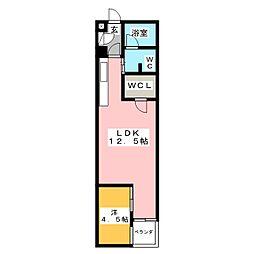 La defence[2階]の間取り