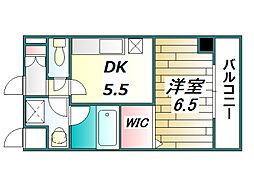 コンフォータブルハウス木元[2階]の間取り