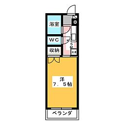 NKマンション[2階]の間取り
