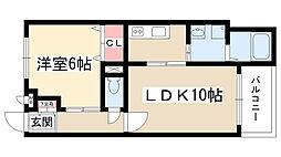 ピュール・レフィナード[3階]の間取り