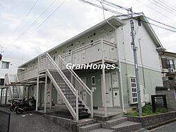 神鉄粟生線 緑が丘駅 徒歩10分の賃貸アパート