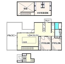 [一戸建] 東京都西東京市ひばりが丘1丁目 の賃貸【/】の間取り