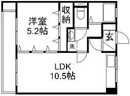 田中マンション[102号室]の間取り