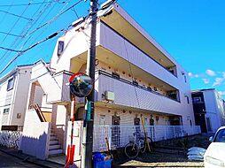 埼玉県新座市野火止6の賃貸マンションの外観