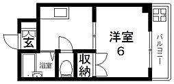 ツインコンフォートハイツ岩崎[2階]の間取り