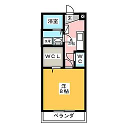 eclat2[2階]の間取り