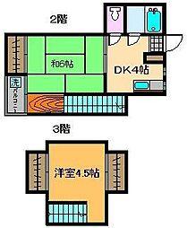 アマランス西新井[2階]の間取り