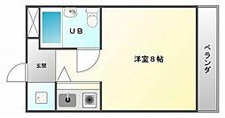 ニューヒル高塚[4階]の間取り